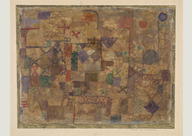 Paul Klee, Carpet of memory, 1914, 193, Zentrum Paul Klee, Bern -