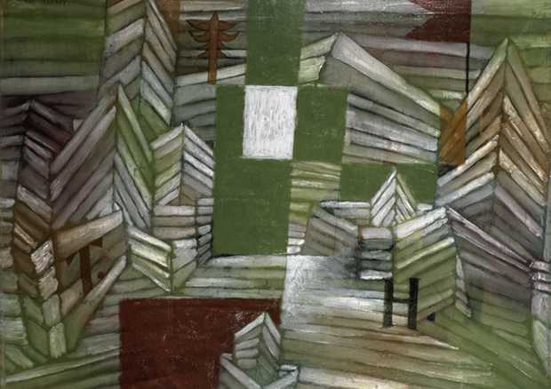 Paul Klee, Construction site for the strawberry house, 1921, 207, Kazumasa KATSUTA, Gallery K. AG, Schweiz -