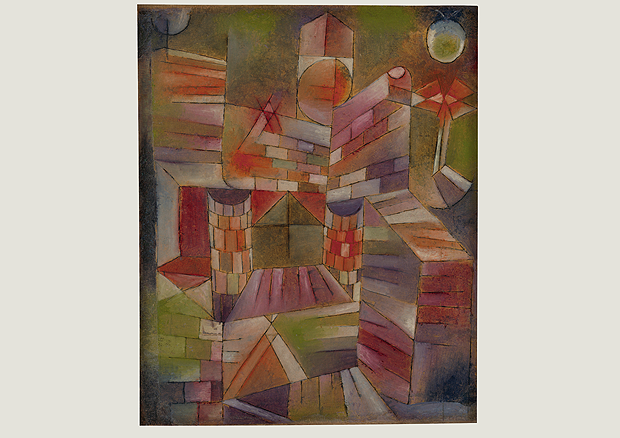 Paul Klee, Architecture with window, oil and pen on paper on wooden panel, 50 x 41,5 cm, Zentrum Paul Klee, Bern -